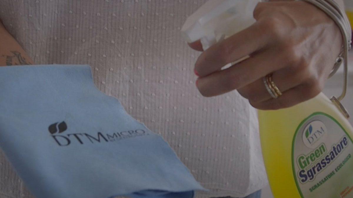 I panni in microfibra